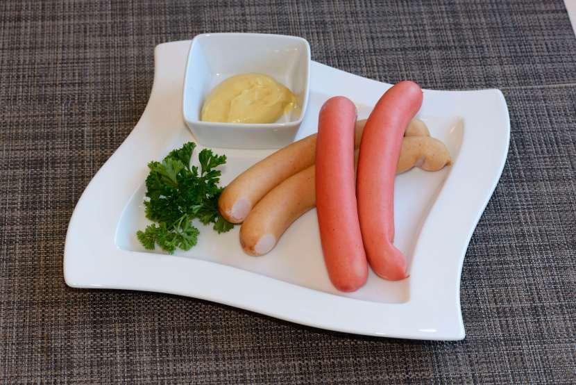 La saucisse deStrasbourg