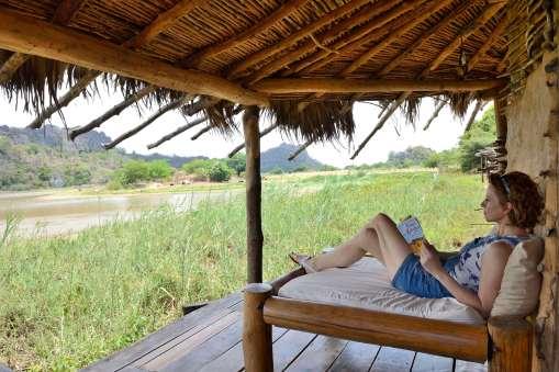 MADAGASCAR Iharana Bush Camp, au pied du massif de l'Ankarana