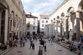 CROATIE - Split Péristyle du palais de Dioclétien