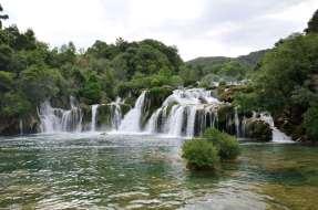 CROATIE - Parc national de Krka Chutes de Stradinski Buk