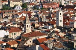 CROATIE - Sibenik Vue depuis la forteresse Saint-Michel