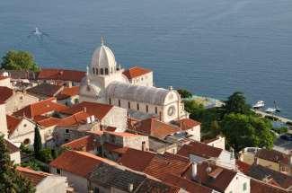 CROATIE - Sibenik Cathédrale Saint-Jacques