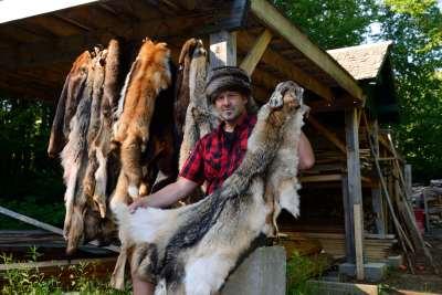 QUEBEC - Parc régional de la Montagne du Diable Carl Blondin, trappeur