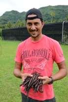 Polynésie Française Raiatea Rainui est un jeune producteur de Vanilla Tahitensis, cultivant sous ombrière. Il vend toute sa vanille à Alain Abel