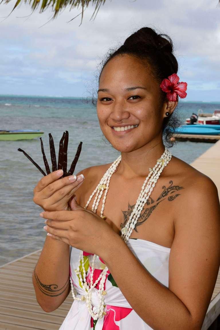 La vanille de Tahiti