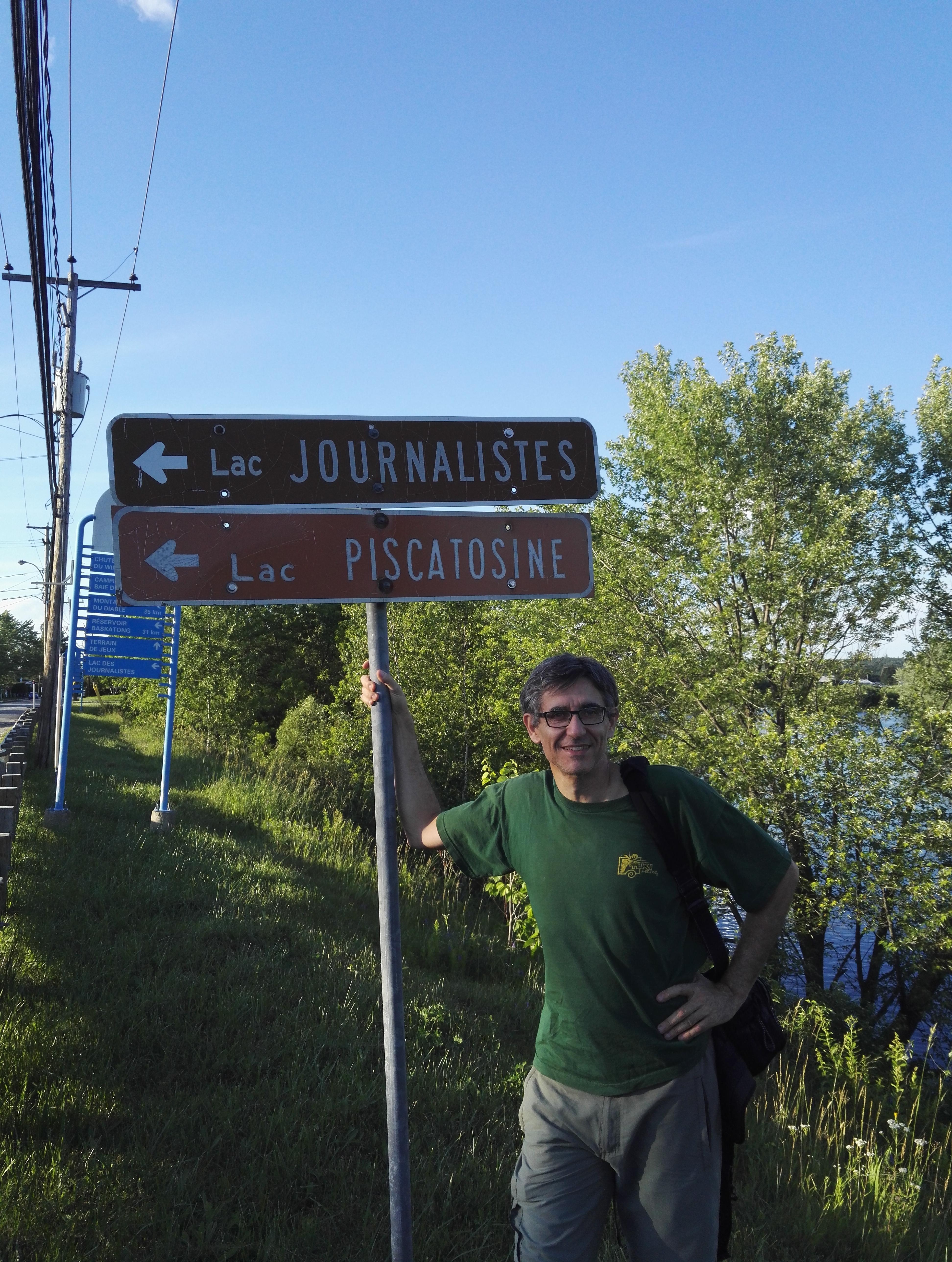 J'ai trouvé mon lac à Ferme-Neuve (Québec) !