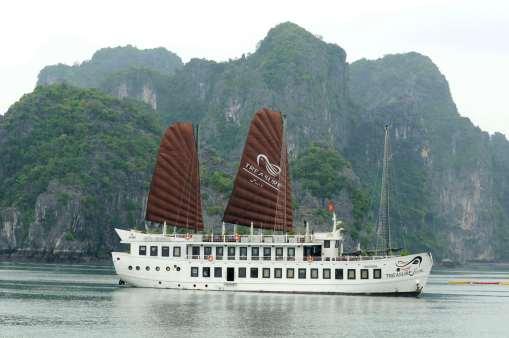 VIETNAM - Baie d'Halong Jonque