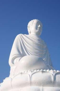 VIETNAM - Nha Trang Bouddha géant de la pagode de Long Son