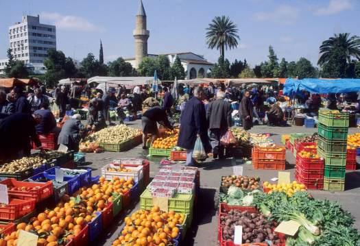 CHYPRE - Nicosie Marché en plein air