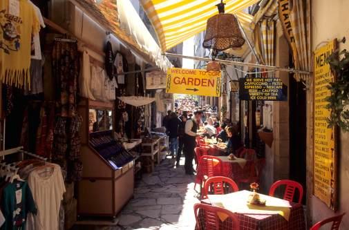 CHYPRE - Nicosie Marché couvert dans Laïki Geitonia