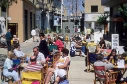CHYPRE - Nicosie Cafés de Ledra St