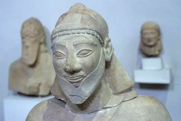 CHYPRE - Nicosie Au musée archéologique