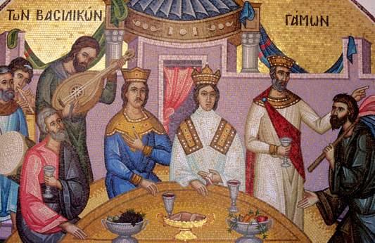 CHYPRE - Troodos Fresque du monastère de Kykko