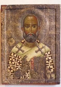 CHYPRE - Nicosie Icône au musée byzantin
