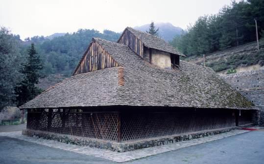 CHYPRE - Troodos Eglise Panaia Tou Araka