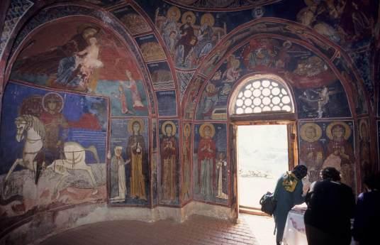 CHYPRE - Troodos Eglise d'Asinou