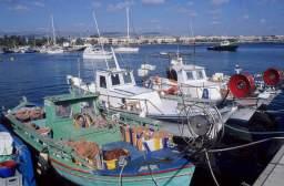 CHYPRE - Kato Paphos Port de pêche