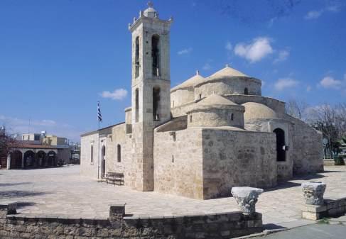 CHYPRE Eglise à Kato Paphos