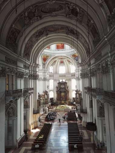 AUTRICHE - Salzbourg La cathédrale (Dom)