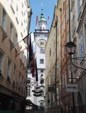 AUTRICHE - Salzbourg Ruelle de la vieille ville