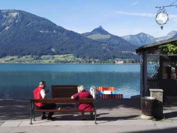 AUTRICHE - Salzkammergut Lac de Wolfgang