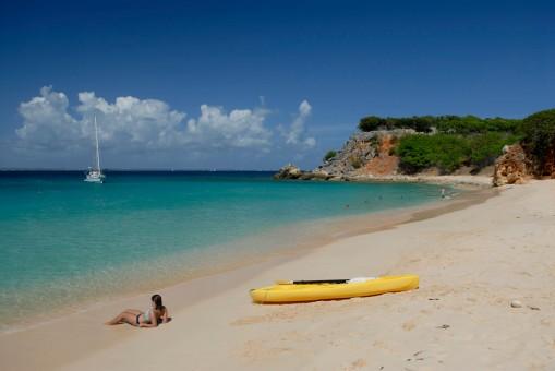 SAINT-MARTIN Plage de l'île Tintamarre