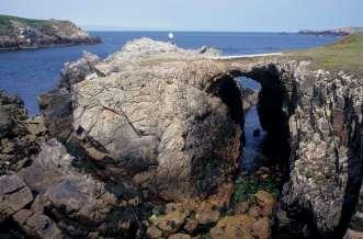 FINISTERE - Ile d'Ouessant A la pointe de Galgrac'h