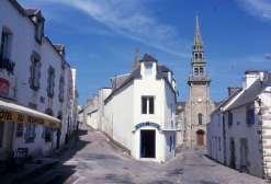 FINISTERE - Ile d'Ouessant Bourg de Lampaul