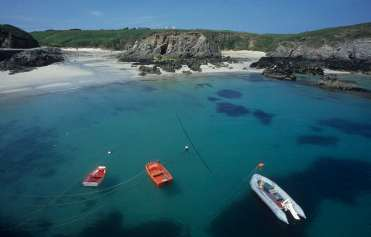 FINISTERE - Ile d'Ouessant Port Arlan