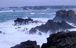 FINISTERE - Ile d'Ouessant A la pointe de Créac(h
