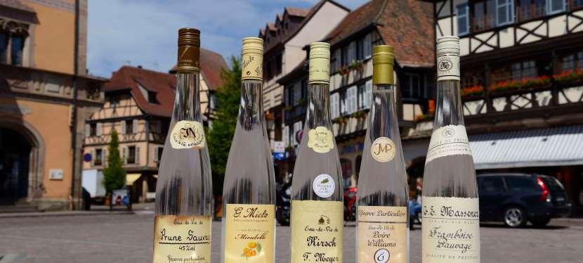 Les eaux-de-vie d'Alsace