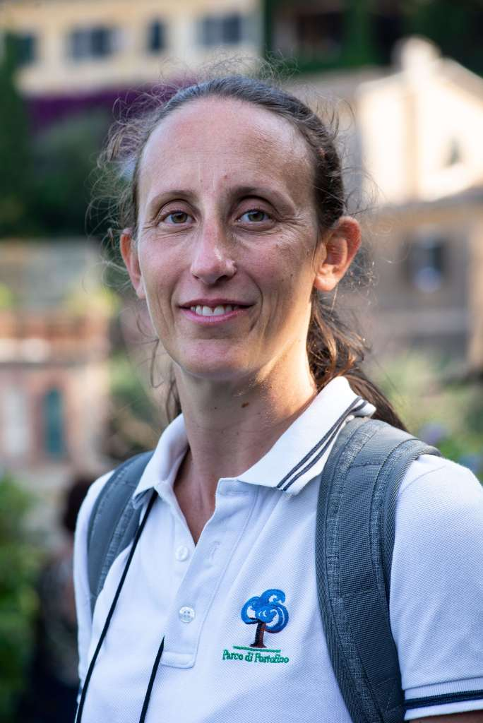 ITALIE - Portofino Veronica Littardi, guide pour le parc de Portofino