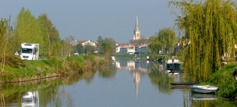 Deux-Sèvres : balade au fil de l'eau encamping-car